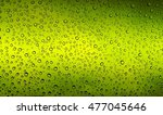 rain drops on glass window... | Shutterstock . vector #477045646