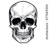vector skulls illustrations