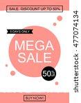 sale banner template  design....   Shutterstock .eps vector #477074134