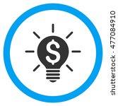 business idea bulb vector...   Shutterstock .eps vector #477084910