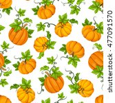 vector seamless pattern with... | Shutterstock .eps vector #477091570