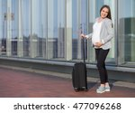 photo of pregnant business... | Shutterstock . vector #477096268