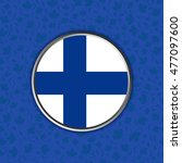 flag of finland in web button...   Shutterstock .eps vector #477097600