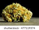 marijuana bud closeup | Shutterstock . vector #477119374