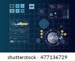 global networking concept .... | Shutterstock . vector #477136729