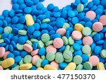 soft focus pills medicine ... | Shutterstock . vector #477150370