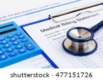 medical bill and health... | Shutterstock . vector #477151726