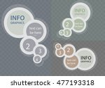 circle elements for chart... | Shutterstock .eps vector #477193318
