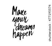 conceptual hand drawn phrase... | Shutterstock .eps vector #477195574