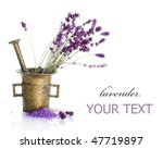 lavender cosmetics concept | Shutterstock . vector #47719897