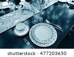 different kinds of tablewares... | Shutterstock . vector #477203650