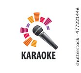 vector logo karaoke | Shutterstock .eps vector #477221446