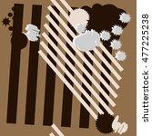 abstract seamless  pattern.... | Shutterstock .eps vector #477225238