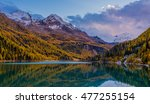 beautiful autumn landscape in... | Shutterstock . vector #477255154