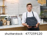 successful small business owner ... | Shutterstock . vector #477259120