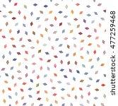 vector seamless multicolor... | Shutterstock .eps vector #477259468
