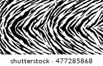 tiger texture abstract... | Shutterstock .eps vector #477285868