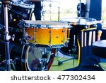 the drum and other musical... | Shutterstock . vector #477302434