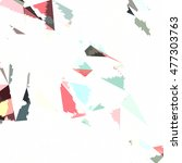 abstract background with...   Shutterstock .eps vector #477303763