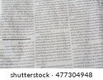 newspaper blur background   Shutterstock . vector #477304948