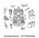 vector illustration set of... | Shutterstock .eps vector #477332464