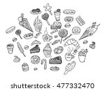 vector illustration set of... | Shutterstock .eps vector #477332470