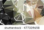 randomly scattered triangles of ...   Shutterstock .eps vector #477339658