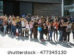 london uk   september 19  2015  ... | Shutterstock . vector #477345130