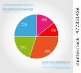modern info graphic options... | Shutterstock .eps vector #477351436