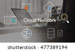 big data domain web page seo...   Shutterstock . vector #477389194