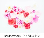 abstract rose paper high color... | Shutterstock . vector #477389419