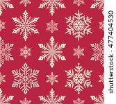 Christmas Snowflakes Backgroun...