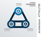 vector elements for infographic.... | Shutterstock .eps vector #477411730