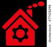 plant building icon. vector... | Shutterstock .eps vector #477428398