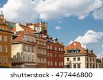 warsaw old town | Shutterstock . vector #477446800