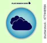 cloud icon. web design
