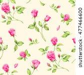 summertime garden flowers... | Shutterstock . vector #477466600
