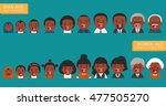 african american ethnic people... | Shutterstock .eps vector #477505270