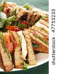 Clubhouse Sandwich With Grille...