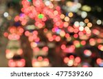 abstract bokeh light background ... | Shutterstock . vector #477539260