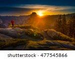 Yosemite National Park Woman...