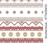 scheme for embroidery nordic... | Shutterstock .eps vector #477620653