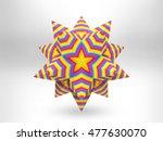 3d rendered polygonal...   Shutterstock . vector #477630070