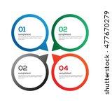 infographics vector... | Shutterstock .eps vector #477670279
