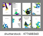 business abstract template... | Shutterstock .eps vector #477688360