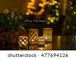 christmas decoration for the... | Shutterstock . vector #477694126