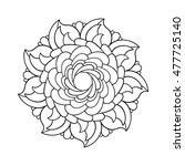 round pattern | Shutterstock .eps vector #477725140