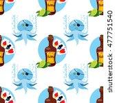 seamless pattern for design... | Shutterstock .eps vector #477751540