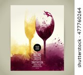 template for your wine related...   Shutterstock .eps vector #477760264