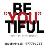 slogan graphic for t shirt | Shutterstock . vector #477791236